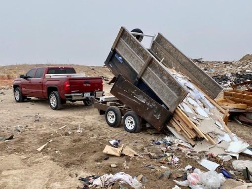 First Dump